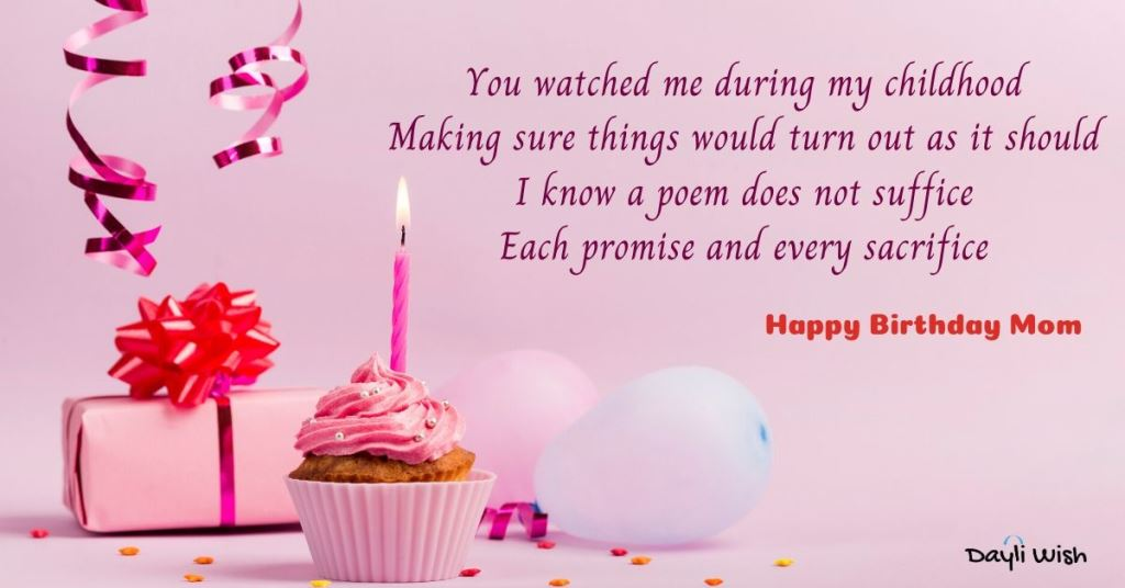 Happy Birthday Poems for Mother