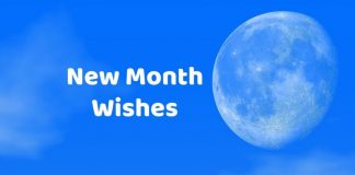Happy New Month Wishes Messages
