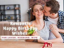 Romantic Happy Birthday Wishes For Lover, Boyfriend, Girlfriend