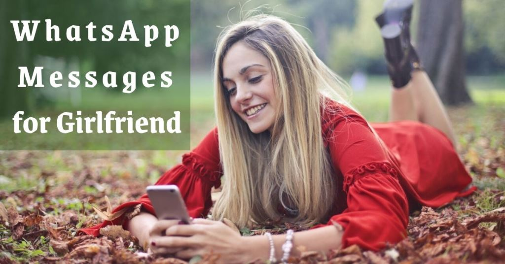WhatsApp Messages for Girlfriend