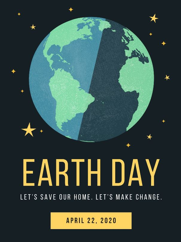 Earth Day 2020 Poster Slogans