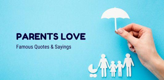 Parents Love Quotes