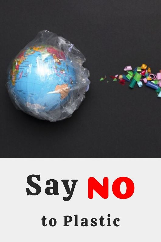 Say no to Plastic Earth Day 2020 slogans